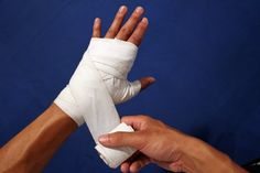boxing tape for elises hands