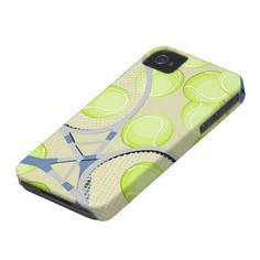 Tennis iPhone Case Iphone 4 Covers by Fashion Phones.Really cool like the color. Tennis Bags, Tennis Gifts, Tennis Gear, Sport Tennis, Play Tennis, Tennis Shop, Tennis Party, Iphone 4, Iphone Cases