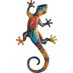 Buy Aztec Lizard Wall Art at Argos.co.uk - Your Online Shop for Garden ornaments and lanterns.