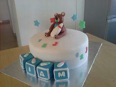 10inch baby dedication cake