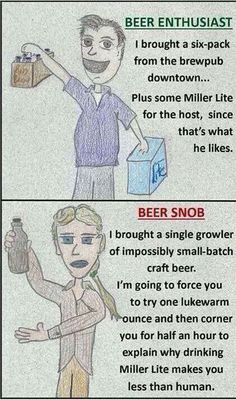 Funny lol -- Are you a real beer enthusiast, or an obnoxious beer snob? Funny Photos, Best Funny Pictures, Funniest Photos, Bbq Drinks, Beverage, British Beer, Beer Quotes, Beer Keg