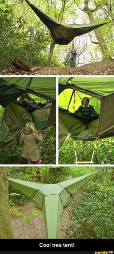 Cool tree tent!