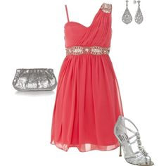 cute idea for my sister's Sweet 16 birthday party... Made my first outfit on polyvore today! :)