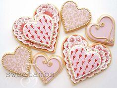 valentine's cookie inspiration