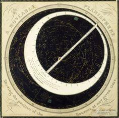 Planisphere, 1856