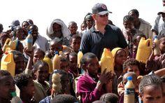 Matt Damon spills on the importance of clean water. Love him!