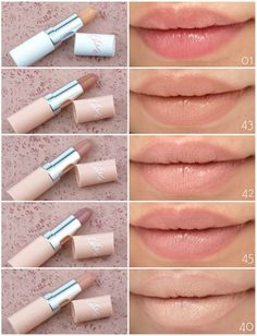 The Happy Sloths: Rimmel London Kate Moss Nude Collection Lipsticks: Review and Swatches