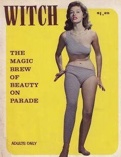 Vintage Pulp Fiction | Witch