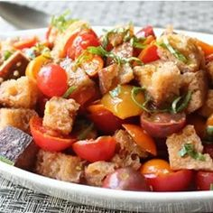 "Chef John's Panzanella | ""Another delicious recipe from Chef John! (His many recipes on this site as consistently excellent.) """
