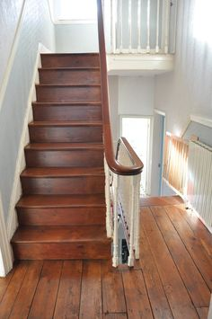 How To Sand And Restore A Victorian Wooden Floor — Alice de Araujo Restore Wood, Floor Runners, Wooden Stairs, Rustic Cottage, Timber Flooring, Floor Patterns, Floor Cushions, Restoration, New Homes