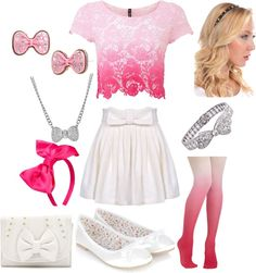 """""""I 3 bows"""" by mackenzie422 ❤ liked on Polyvore"""