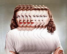 Vintage Portraits Duplicated in Surreal Collages by Matthieu Bourel - My Modern Met http://www.dojo.electrickettle.fr/