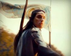 Noldor - Wow, an Elf with long hair that actually looks like he's not a girl. How terribly refreshing.