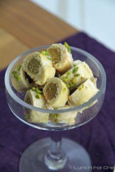 Marzipan-Pistazien Kekse by Lunchforone