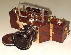 6x17 August '99 hand made precision panoramic camera