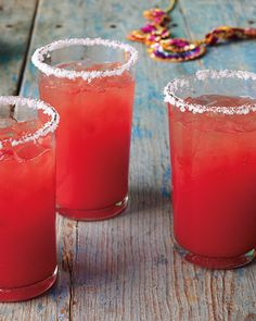 watermelon margaritas! Yummo - going to try this!