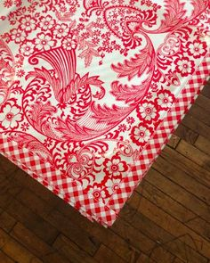 This Delightful Tablecloth Is Handmade In Philadelphia By The Oilcloth  Experts! These Square And Rectangular Tablecloths Are Finished With Gingham  Trim, ...