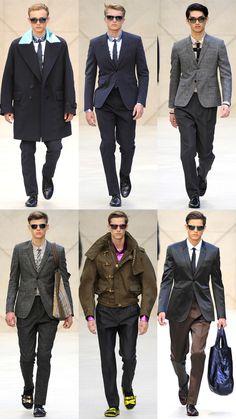 Burberry Prorsum Menswear Spring 2013 Collection.