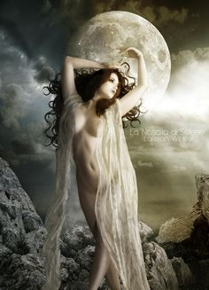 Goddess Art, Moon Goddess, Artemis Goddess, Divine Goddess, Aurora Goddess, Luna Goddess, Goddess Pagan, Pagan Gods, Roman Mythology