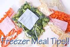 Or so she says...: Freezer Meals ~ Tips for Dummies - contains tips, tricks, ideas and recipes