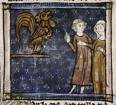 MS. Douce 308 (Bestiaire d'amour), Gallo, Bodleian Library (University of Oxford), Oxford, England, United Kingdom France, 14th century Author: Richard de Fournival Folios: 310