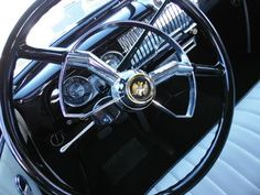 1952 Chevrolet Deluxe - This car came in to get a steering column problem figured out and also to fix the door handles.