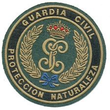 SPAIN GUARDIA CIVIL PROTECTION OF NATURE UNIT POLICE PATCH