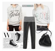 """""""StyleMoi.nu 1.8"""" by amra-mak ❤ liked on Polyvore featuring 3.1 Phillip Lim, Converse and stylemoi"""