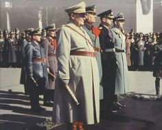 Hermann Göring (suicide October 15, 1946), Wilhelm Keitel (executed October 16, 1946), Karl Dönitz, Heinrich Himmler (suicide May 23, 1945).