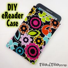 I'm making a case for my new NOOK. This is a good place to start. Sewing Tutorials, Sewing Crafts, Sewing Projects, Sewing Ideas, Diy Case, Make A Case, Diy Household Tips, Kindle Case, Scrapbook Cards