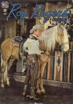 roy rogers comic books | Roy Rogers Comics #7 (Issue)