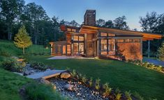 Gristmill Builders Stowe Vermont and Lake Placid New York   Residential   4 Lake Placid New York, Stowe Vermont, Home Builders, Cabin, Mansions, House Styles, Owls, Manor Houses, Cabins