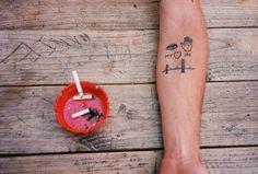 I left my heart in San Francisco tattoo...