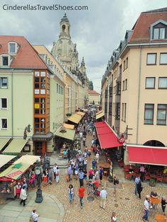 One of the prettiest towns in Germany is Dresden, called also The 'Florence of the Elbe'. Read more about what Dresden in Germany can offer. Travel Shoes, Dresden, Florence, Terrace, Germany, Street View, Balcony, Patio, Deutsch