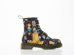 Dr Martens X Adventure Time Toddler 8 Eyelet Finn Brooklee Boot