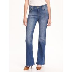 Ag Ag Petite Janis Flare Jeans Tonal Society ($198) ❤ liked on ...