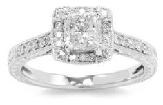 Kobelli 1 1/5 cttw Round and Princess-Cut Diamond Engagement Ring, Size 6 Kobelli,http://www.amazon.com/dp/B004XE090U/ref=cm_sw_r_pi_dp_RD08rb1GEN3PAVG7