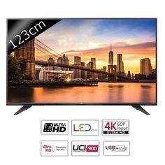"LG 49UF671V TV LED Ultra HD 4K 123cm pas cher (49"") prix Téléviseur 4k Cdiscount 729.90 €"