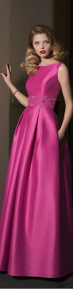 Dress formal elegant rosa clara Ideas for 2019 Beautiful Gowns, Beautiful Outfits, Cool Outfits, Elegant Dresses, Pretty Dresses, Formal Dresses, Prom Dresses, Beauty And Fashion, Pink Fashion