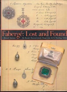 Faberge: Lost and Found : The Recently Discovered Jewelry Designs from the St. Petersburg Archives  Used Book in Good Condition