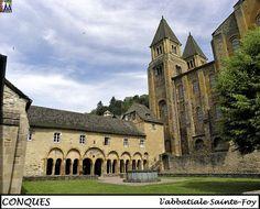 CONQUES - Aveyron --- ABBATIALE