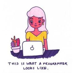 """712 Likes, 31 Comments - @girlswhocode on Instagram: """"Nailed it. 💁"""""""