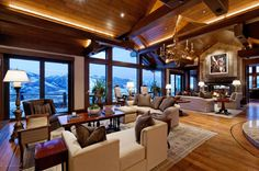 Located atop Aspen's Red Mountain, this sprawling 18,000-square-foot lodge is listed for $65 million, making it Colorado's most expensive home.