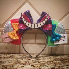 Wonderland Minnie ears by TheMaddTeaParty on Etsy