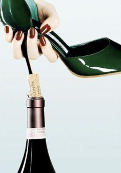 The power of the stilettos