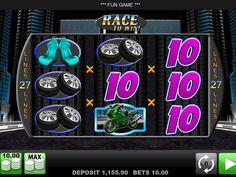 Wir haben sie gerade hinzufügt kostenlos online Automat Race to Win - http://freeslots77.com/de/race-to-win/