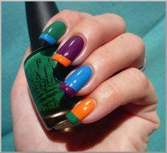 Manicure Ideas - Fashion Diva Design… What fantastic colours!