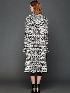 Check This Pattern Maxi Cardigan