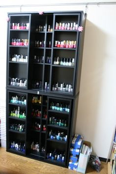 nail polish nail art storage