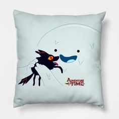 Snow Rock and Fire Pup - Adventure Time - Pillow | TeePublic Snow And Rock, Adventure Time, Pup, Cushions, Throw Pillows, Cushion, Decorative Pillows, Puppies, Pillows